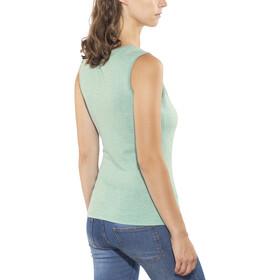 Odlo Revolution TS X-Light Mouwloos Shirt Dames, crystal teal melange